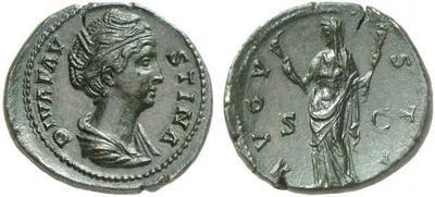 Dupondio de Faustina. Ceres. Roma. 1385912.m