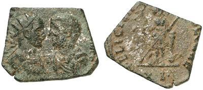 Carus - Carinus - Numerien et Sol sur une même monnaie 1516326.m
