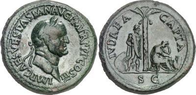 Vespasian Sestertius Fake ??? 404518.m