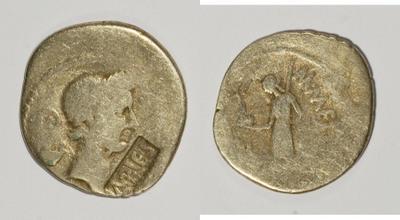 Les contremarques de Vespasien sur les deniers 571046.m