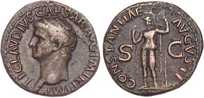 CONSTANTIAE AVGVSTI de Claudio I 1523455.m