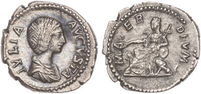 Denario de Julia Domna. MATER DEVM. Roma. 1524669.m