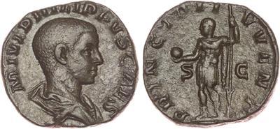 Moneda de Filipo II. PRINCIPI IVVENT S / C. Roma. 1633563.m