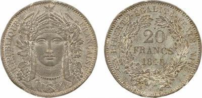 20 centavos de Patacón. Argentina. 1883. 1526586.m