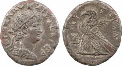 Égypte, Néron, tétradrachme, Alexandrie 1889284.m