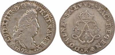 Moneda sin identificar de Luis XIV de Francia. 2159417.m