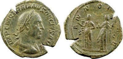 sesterce de Trajan Dece  684263.m