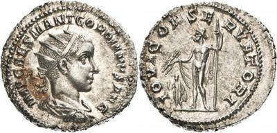 Antoniniano de Gordiano III. IOVI CONSERVATORI. Roma 1461876.m