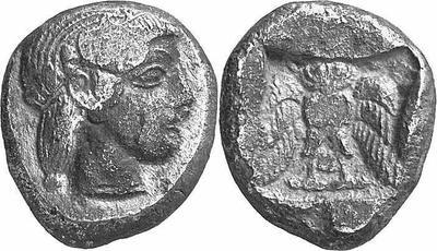 Reproducción de decadracma ateniense 100457.m
