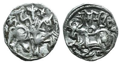 Drachme en argent d'Afghanistan (Empire Indien) du X -XIIème 2107322.m