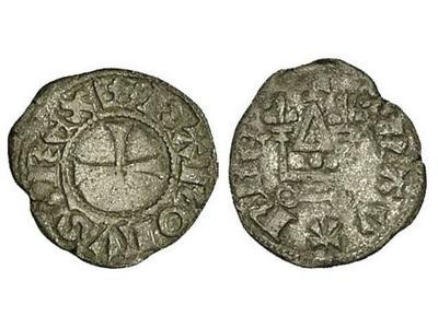 Dinero de Juan II Orsini (1323-1335) de Arta 763284.m