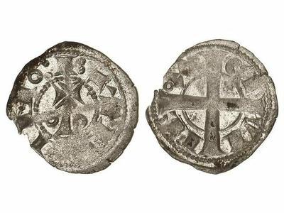 dinero  de vellón de Alfonso I 1322256.m