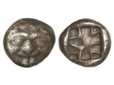 3/4 de dracma. Parion Mysia 1729674.m