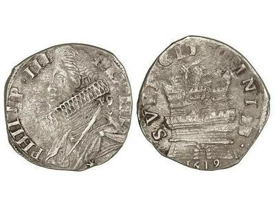15 granos de Felipe III de Napoles  2441343.m