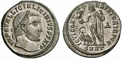 Nummus de Licinio I. IOVI CONSERVATORI. Heraclea. 997284.m