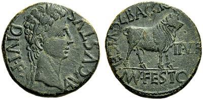 monnaie provinciale de Turiaso en Espagne pour Tibère 1276958.m