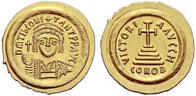 Sólido de Tiberio II 1757725.m