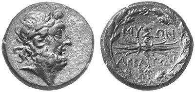 Grecque de Abbaitis de Phrygie ? 173179.m