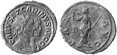 Carus - Carinus - Numerien et Sol sur une même monnaie 173557.m