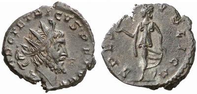 Antoniniano de Tetrico I. SPES PVBLICA. 267071.m