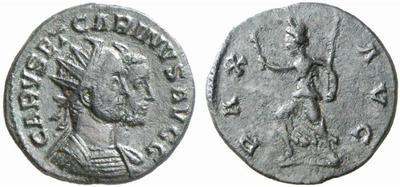 Carus - Carinus - Numerien et Sol sur une même monnaie 301900.m