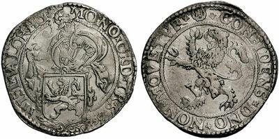 1 Lion daalder. Holanda (colonial). 1597 689244.m