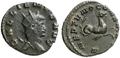 Antoniniano de Galieno. NEPTVNO CONS AVG. Roma 1670106.m