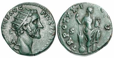 dupondius Antonin le Pieux 766716.m