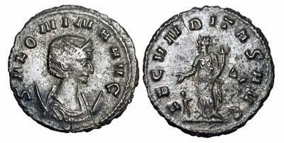 Antoniniano de Salonina. FECVNDITAS AVG. Roma 1334824.m
