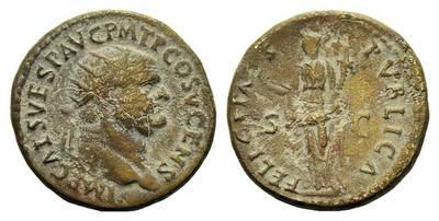 Dupondius Vespasien 1296906.m
