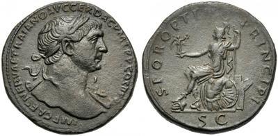 Sestercio de Trajano. S P Q R OPTIMO PRINCIPI / S C. Roma 2436997.m
