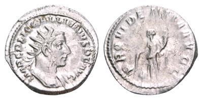 Antoniniano de Galieno. PROVIDENTIA AVGG. Roma 1845201.m