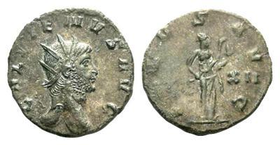 Antoniniano de Galieno. SALVS AVG. Roma. 1929640.m