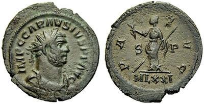 Antoniniano de Carausio. PAX AVG / MLXXI       1286653.m
