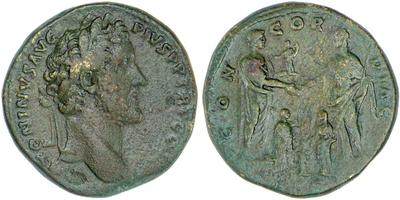 Sestercio alto Imperial. Pax 387295.m