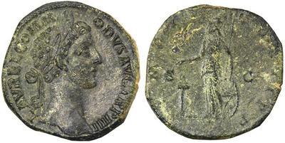 Sestercio de Comodo. Minerva. Roma. 566617.m