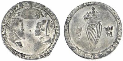 Groat irlandés de Felipe II y María Tudor 647302.m