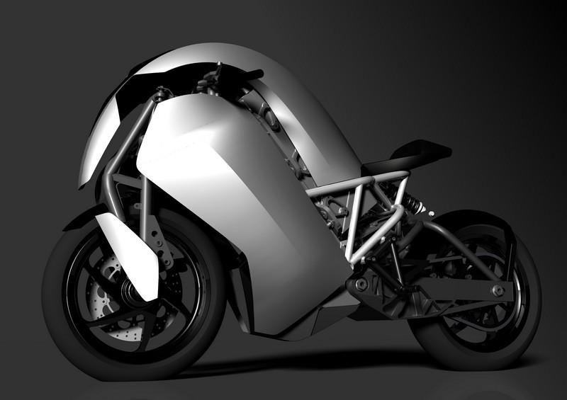 Agility Saietta : Encore une moto électrique du futur non conventionnelle ! Par Florian LOPEZ  Agility-Saietta-grise