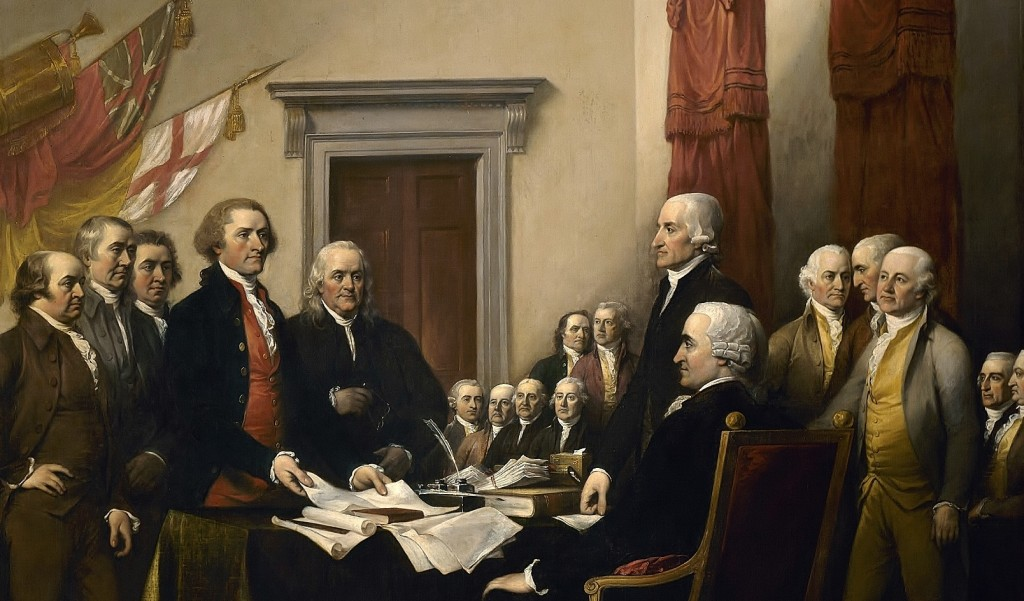 How Your Money Was Stolen A Very Brief History of Taxation in America Declaration-founders2-1024x601