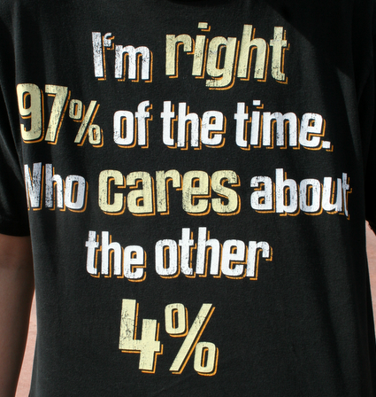 Comptons en images - Page 4 T-Shirt-Im-Right-97-percent-of-the-time-Who-cares-about-the-other-four-percent