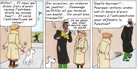 humour Tintin-en-Irak