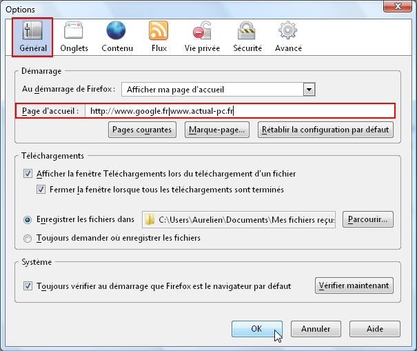 Ouvrir plusieurs pages de démarrage Firefox-pages-demarrage