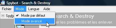 Spybot Search & Destroy Spybot_mode_avance