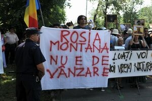 Protestul unei generatii ... Manifestatie-Rosia-Montana