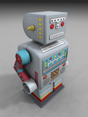 Hello TBL ! :)) - Page 4 3d_tin_robot