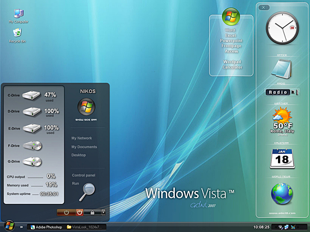 Theme Windows Vista 640_VistaLook_1024x768_Prev