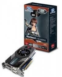 Sapphire ATI VGA HD6850 1G GDDR5 11180-00-20R