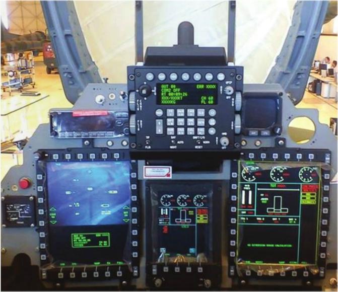 AMX - Conozca los detalles de la modernización de la aeronave A-1M de la FAB A-1M-cockpit1