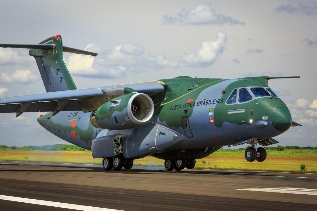 [Brasil] Embraer KC-390 chega aos Estados Unidos para uma série de testes em voo Embraer-KC-390-1024x683