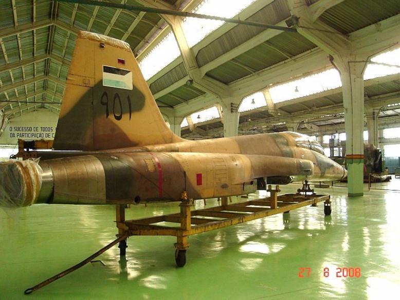 FAB recibe último F-5EM primer lote modernizado. F-5-ex-jordania